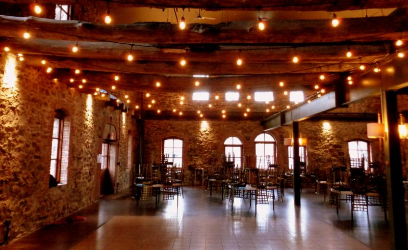 Brotherhood Winery Lighting by Hourglass Lighting