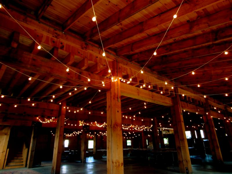 Hourglass Lighting aka HudsonValleyBarnWedding.com