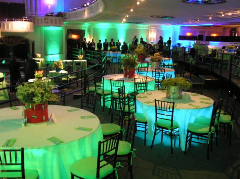 Under The Table Lights #16 - Wedding Reception Lighting Tips And Ideas