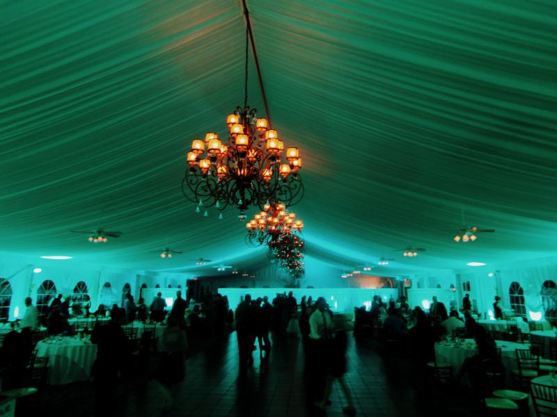 West Hills Country Club tent Middletown NY